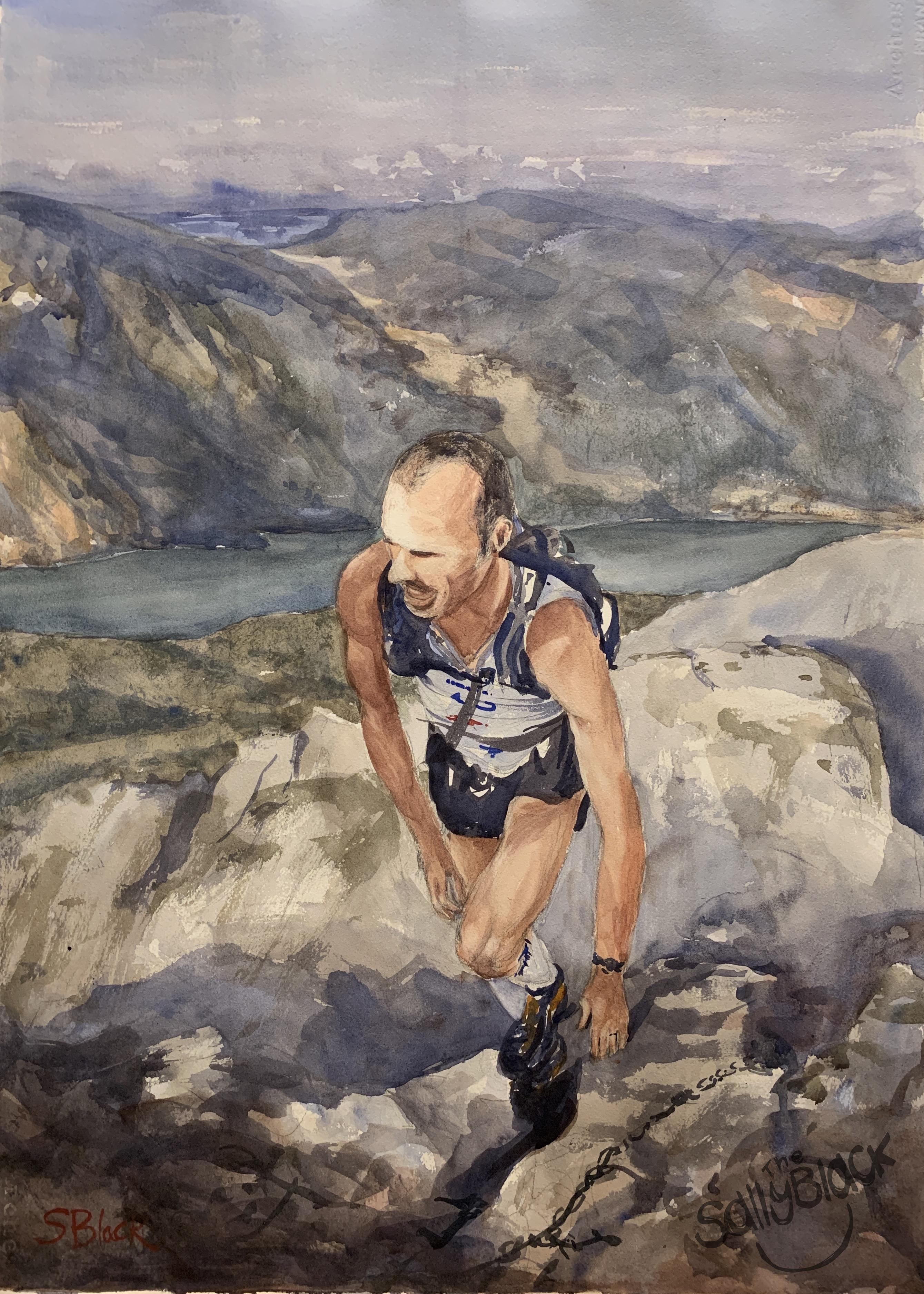 Mountain running- Italy