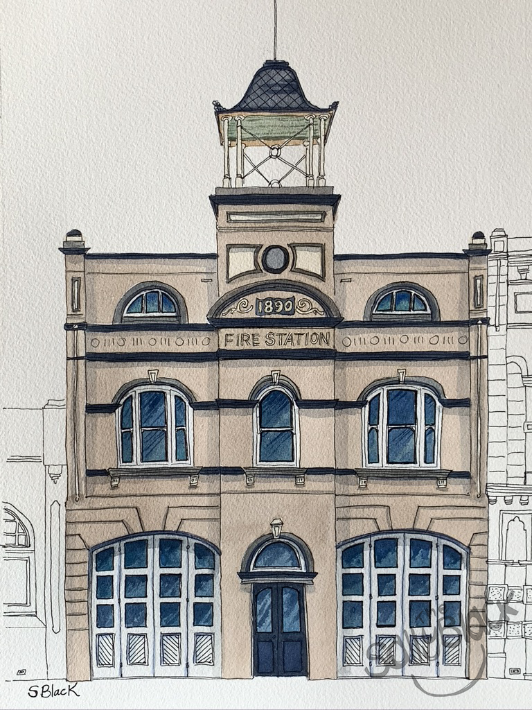 The Old Fire Station, Goulburn NSW